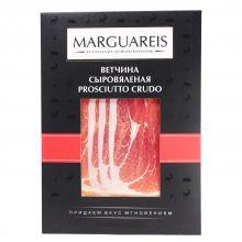Ветчина сыровяленая свиной Окорок Прошутто Крудо в нарезке Marguareis - 60 г (Россия)