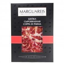 Ветчина сыровяленая из свинины Шейка в нарезке Marguareis - 60 г (Россия)